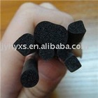 shaped epdm foam extrusion/EPDM sponge extrusion