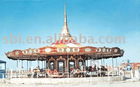Carousel amusement equipment