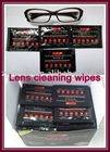 Anti-fog lens cleaning wipes for new style
