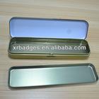 tin metal pencil cans