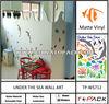 Fish Design PVC Adhesive Sticker