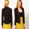 Shiny Notched Lapels Latest Coat Designs For Women