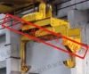 Steel Coil Lifting clamp With Screw Axis/crane tongs