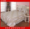 HOT 3PCS texture soft 100%cotton bedding set