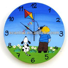 Import Acrylic Wall Clock with Fancy Dial