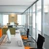 aluminium partition for office