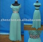 New arrival elegant ZZ-01 zhenzhen chiffon beaded evening dress