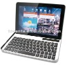 bluetooth keyboard with aluminum case for galaxy tab 10.1