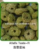Different color and taste dried pet food