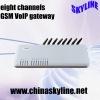 eight ports SIM VoIP gateway