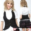 Punk Visual Gothic lolita coat vest 61238