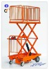 Power Cart with Double Scissor Lift