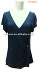 Perfect Women's Plain Dark Blue T-shirt