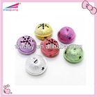 jingle bells for christmas decoration /snow shape decoration bell