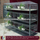 durable elecro galvanized iron wire rabbit cage(200*150*60cm)