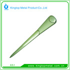 Kingtop Office Cutting Supplies Metal Letter Opener with Smooth Shiny Shape