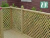 Beautiful wpc decking railing for garden& municipal park
