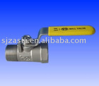 no.6 1pc thread ball valve