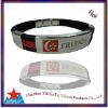popular silicone bangle with laser engraving buckle