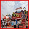 Crazy!!! outdoor playground amusement fairground equipments tagada ride