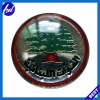 pine tree decorative metal badge