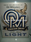 Old Milwaukee beer retro 80's fiber optic lighted sign