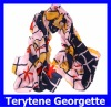 Wholesale Fashion Terytene Georgette Winter Large Women Scarves