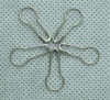 Safety pin for garment tag
