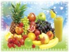 PET printing Fruit style 3d table placemat set