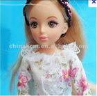Hot new plastic girl doll for kids