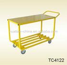 Pb-free and UV resistant powder coating,service cart