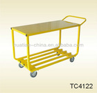 Pb-free and UV resistant powder coating,service cart