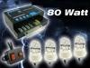 4 HID Bulbs Hide-A-Way Emergency Strobe Light System Kit