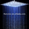 LD8030-A8 400mm*400mm Top Spray Shower Overhead LED Bathroom Toilet Sink Shower