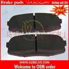 Rear Brake pad 04466-60120 for TOYOTA / LAND CRUISER