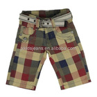 2012 Boys Check Bermuda Shorts
