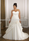vintage sweetheart designer style chapel train wedding dress
