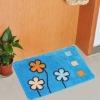 100%polyester microfiber print anti-slip door mat