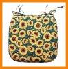 goods in stock $0.8 printed cotton seat chair cushion