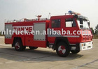 HLQLLX5160GXFPM60X foam water fire truck