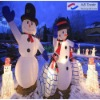 lighting inflatable christmas snowman for decoration