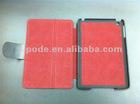 new design leather case for mini ipad