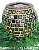 Solar Mosaic Jar candle light
