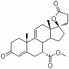 Pregna-4,9(11)-diene-7,21-dicarboxylic acid,17-hydroxy-3-oxo,g-lactone,methyl ester