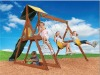 Wood slide (playsets)