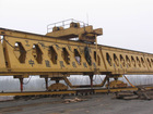 HZQ50-150 honeycomb girder bridge erecting crane for highway construction