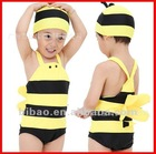 2012 new yellow bee swimsuit sexy boys swimwear