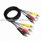 High speed 4rca cable