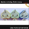 2012 hot selling color 3 pin usb charger for iphone 4,usb charger for iphone 4, for iphone usb charger