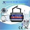 E8 GSM alarm system for office and home security,with night vision camera